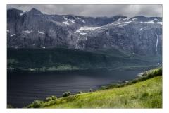 Fjordlandschaft bei Naustal