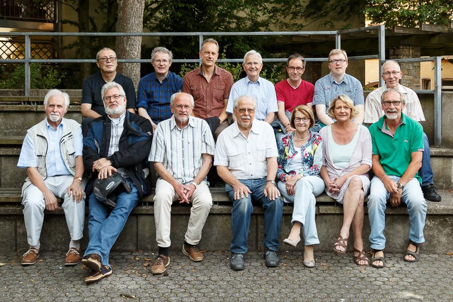 Einige Mitglieder der FGO